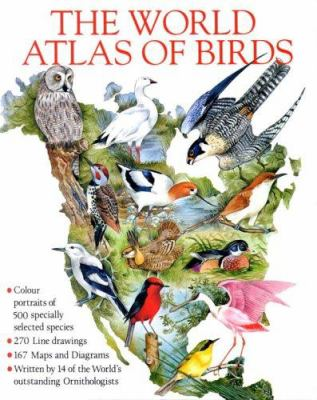 Cover image for The world atlas of birds