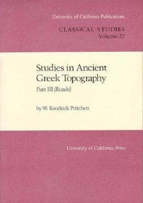 Cover image for Studies in ancient Greek topography