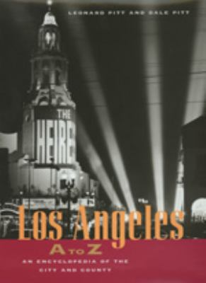 Cover image for Los Angeles A to Z : an encyclopedia of the city and county