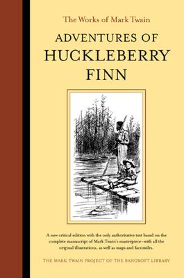 Cover image for Adventures of Huckleberry Finn
