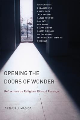 Cover image for Opening the doors of wonder : reflections on religious rites of passage