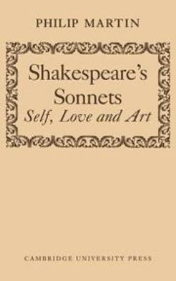Cover image for Shakespeare's sonnets; self, love and art