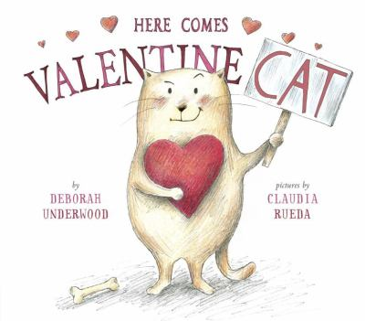 Cover image for Here comes Valentine Cat