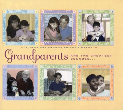 Cover image for Grandparents are the greatest because--