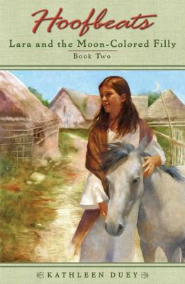 Cover image for Lara and the moon-colored filly
