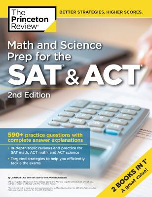 Cover image for Math and science prep for the SAT & ACT