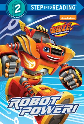 Cover image for Robot power!