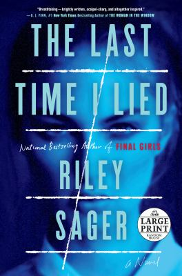 Cover image for The last time I lied : a novel