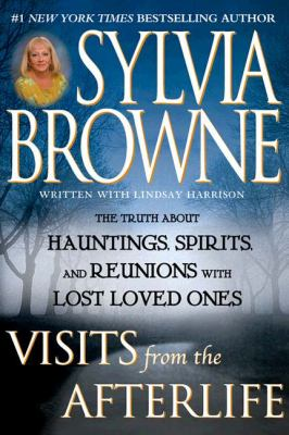Cover image for Visits from the afterlife : the truth about hauntings, spirits, and reunions with lost loved ones
