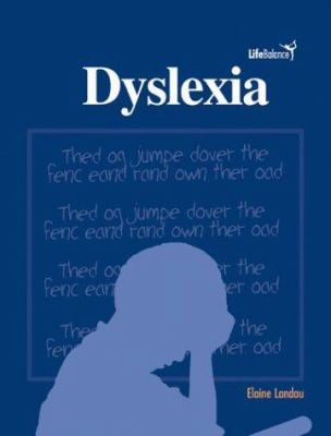 Cover image for Dyslexia