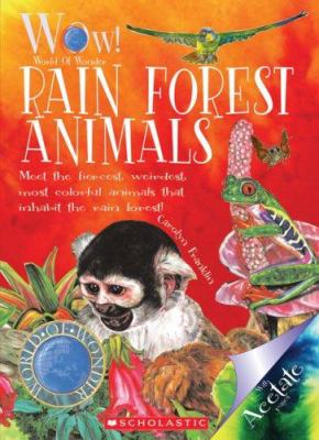 Cover image for Rain forest animals