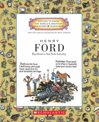 Cover image for Henry Ford : big wheel in the auto industry