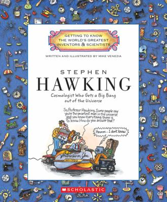 Cover image for Stephen Hawking : cosmologist who gets a big bang out of the universe