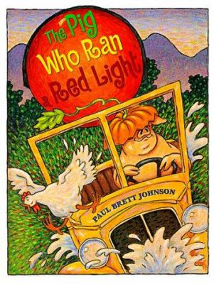 Cover image for The pig who ran a red light
