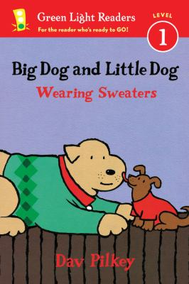 Cover image for Big Dog and Little Dog wearing sweaters