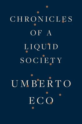 Cover image for Chronicles of a liquid society