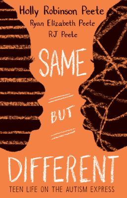 Cover image for Same but different : teen life on the autism express