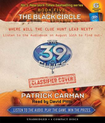 Cover image for The black circle. The 39 clues