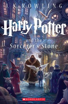 Cover image for Harry Potter and the Sorcerer's Stone / by J. K. Rowling ; [interior] illustrations by Mary Grandpré́, [cover illustration by Kazu Kibuishi].