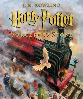 Cover image for Harry Potter and the sorcerer's stone : [illustrated edition]