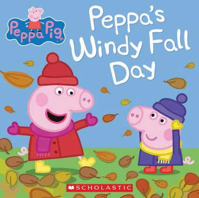Cover image for Peppa's windy fall day