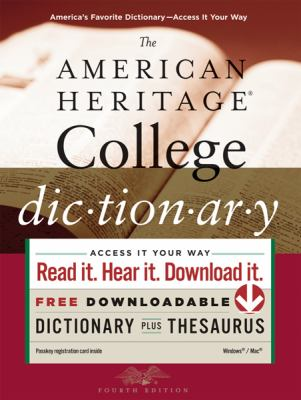 Cover image for The American Heritage college dictionary.