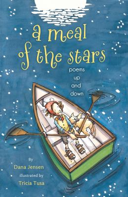 Cover image for A meal of the stars : poems up and down