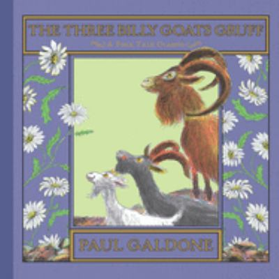 Cover image for The three billy goats Gruff