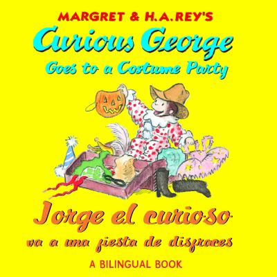 Cover image for Curious George goes to a costume party