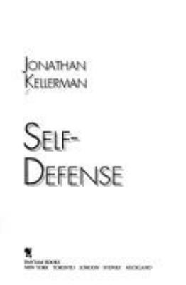 Cover image for Self-defense
