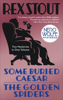 Cover image for Some buried Caesar : & The golden spiders