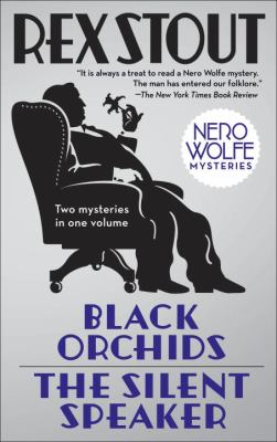 Cover image for Black orchids : &, The silent speaker
