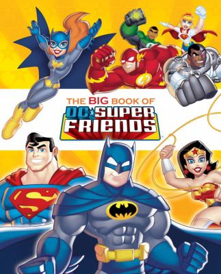 Cover image for The big book of DC super friends
