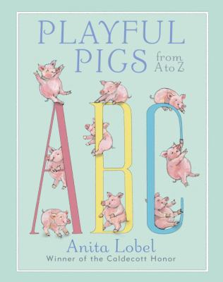 Cover image for Playful pigs from A to Z