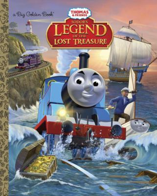 Cover image for Sodor's legend of the lost treasure