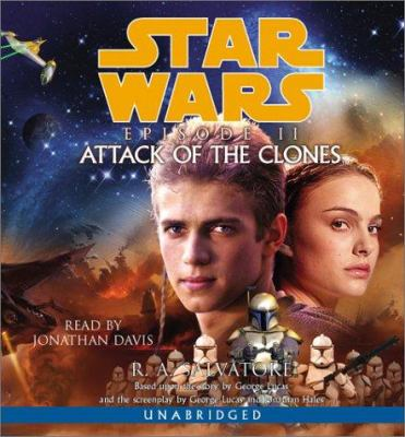 Cover image for Star Wars: episode II attack of the clones
