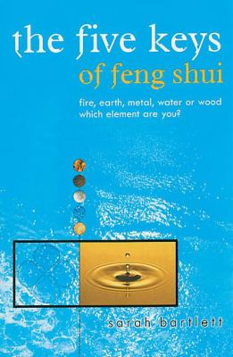 Cover image for The five keys of feng shui