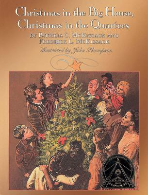 Cover image for Christmas in the big house, Christmas in the quarters