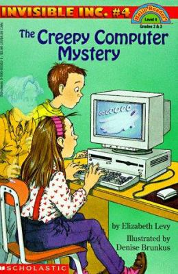 Cover image for The creepy computer mystery