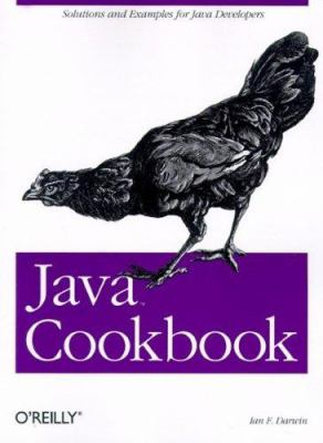 Cover image for Java cookbook
