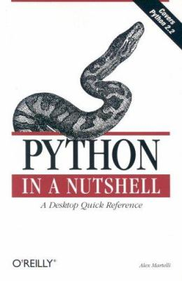 Cover image for Python in a nutshell