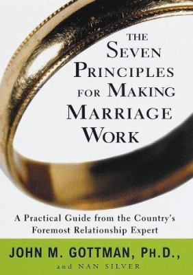 Cover image for The seven principles for making marriage work
