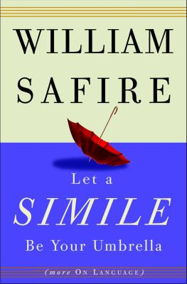 Cover image for Let a simile be your umbrella