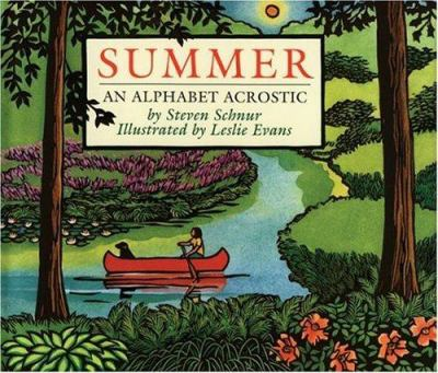 Cover image for Summer : an alphabet acrostic