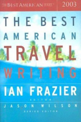 Cover image for The best American travel writing, 2003