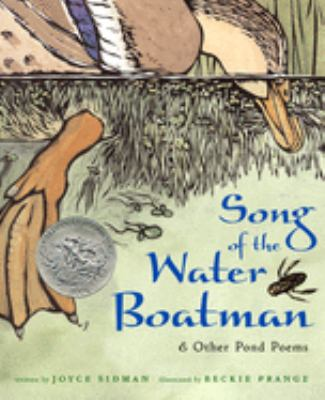 Cover image for Song of the water boatman : & other pond poems