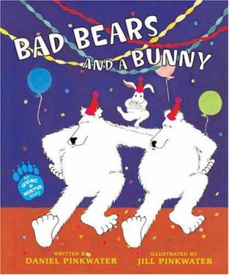 Cover image for Bad bears and a bunny : an Irving and Muktuk story