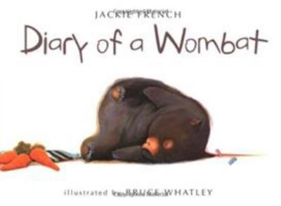 Cover image for Diary of a wombat