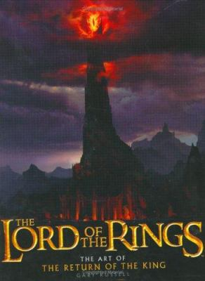 Cover image for The Lord of the Rings : the art of The return of the king