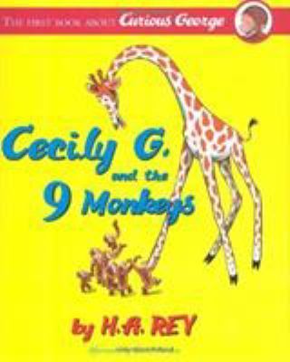 Cover image for Curious George : Cecily G. and the 9 monkeys